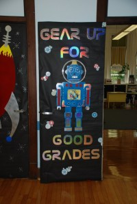 Robot Bulletin Board or Classroom Door Decoration. | STEM ...