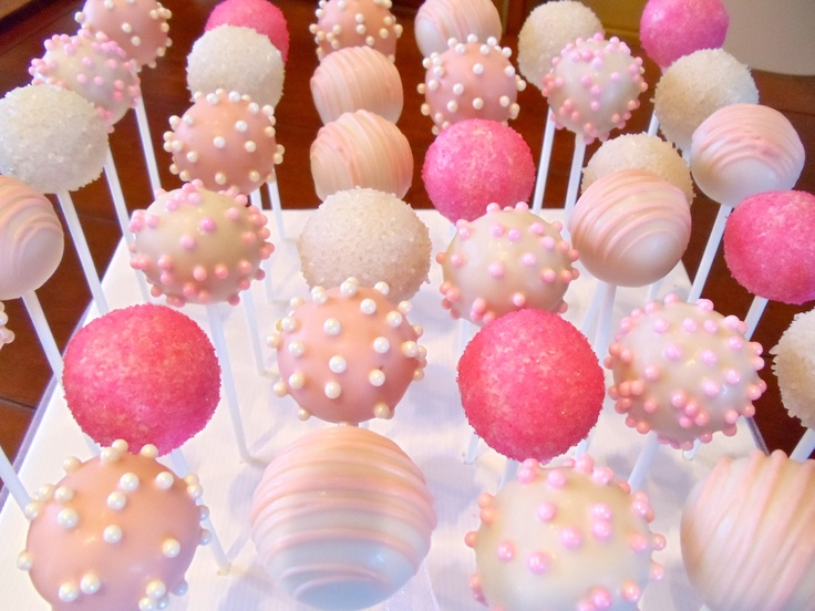 Cake Pops Rosa Pin By Kim Quach On Sweets | Pinterest