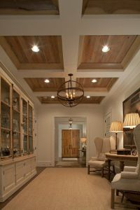 Coffered ceiling | wood and coffered ceilings | Pinterest