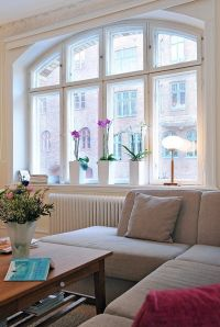 Decorating windows without curtains. | Living space and ...