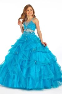 kids ball gowns - Google Search | Kids pageant dresses ...
