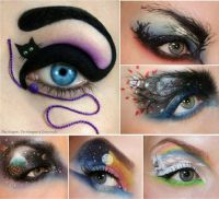 Cool Halloween eye makeup ideas #beauty | Mac | Pinterest
