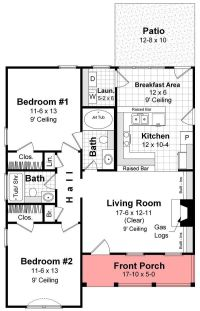 small house plans - Google Search | HOUSE PLANS | Pinterest