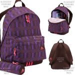 Purple And Black Adidas Girls Backpacks