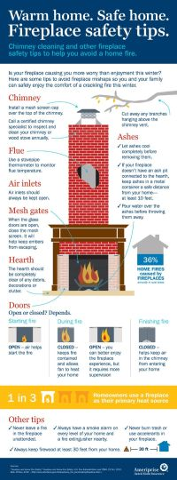 Fireplace Safety #Tips