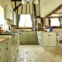 Flooring | Period farmhouse kitchen | King kitchen | Pinterest