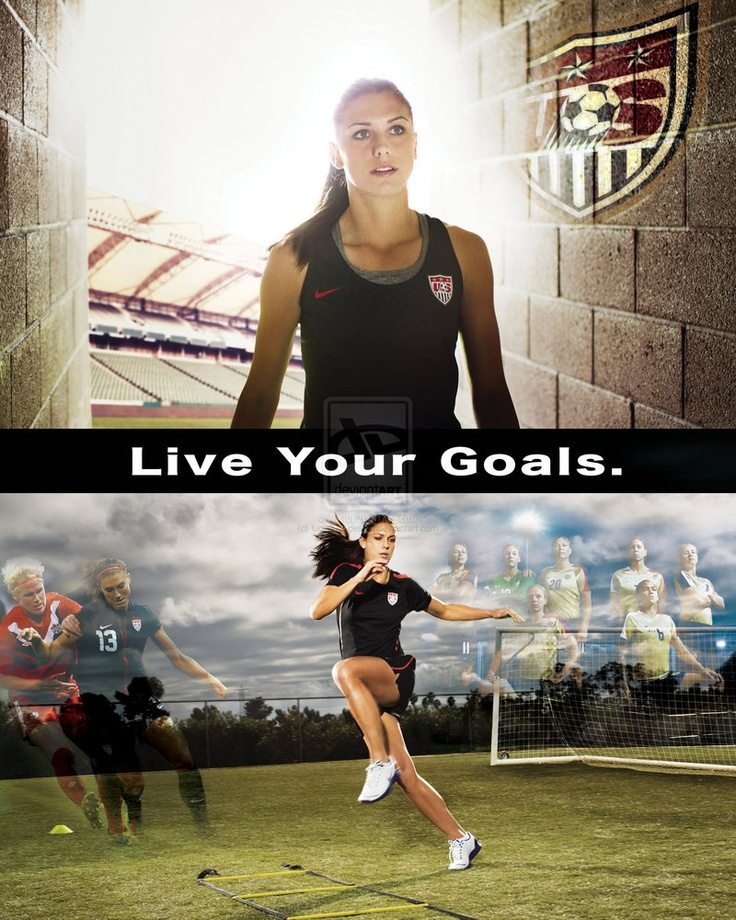 Facebook Wallpaper Quotes From Soccer Players Alex Morgan Quotes Quotesgram