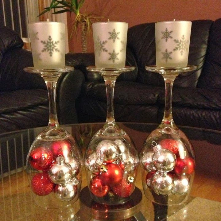 Weihnachtsdeko Mit Gläsern Wine Christmas Decor - Google Search | Christmas | Pinterest