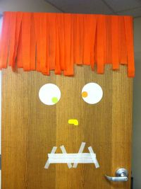 Office Door: Halloween Office Door Decorations