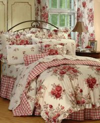 sarahs-rose-comforter-set | Diy | Pinterest