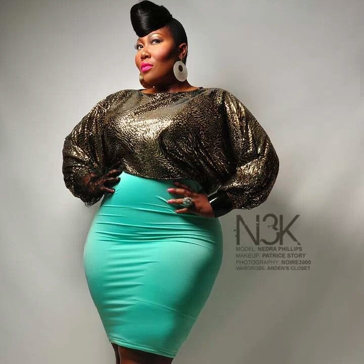 Plus Model Nedra Phillips