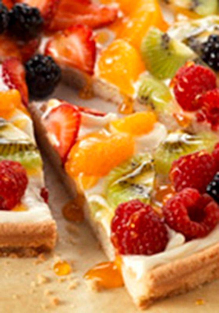 Dessert Pizza Recipe Cream Cheese Cream Cheese Fruit Pizza Recipe