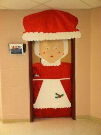 Mrs. Claus Christmas Classroom door | Holidays :) | Pinterest