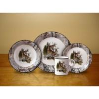16-Piece Dinnerware Set - Realtree Decal Design - Gander ...