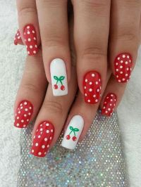 Rockabilly nails... | Rockabilly Style | Pinterest