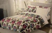 Girls Owl Twin Bedding Sets | ... piece twin xl twin size ...