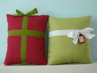 Cute and easy to make Christmas pillow | Stuff | Pinterest