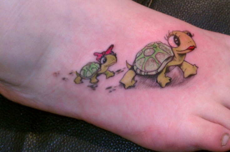 Gallery for gt baby turtle tattoos