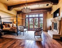 tuscan master bedroom | Tuscan Home Ideas | Pinterest