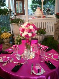 Homemade Sweet 16 Table Decorations Photograph | Sweets