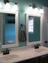 Framed Bathroom Mirrors | For the Home | Pinterest