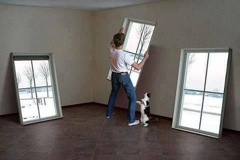 Decore a room without windows.