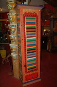 multi-colored furniture | funky fabulous furniture | Pinterest