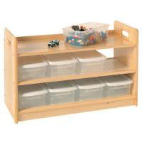Wooden Toy Organizer