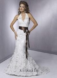 brown and white wedding dresses | Wedding Cambridge ...