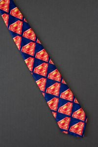 Superman Logo Repeat - DC Comics Tie | For my other half ...