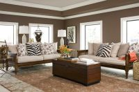accent wall chocolate brown....