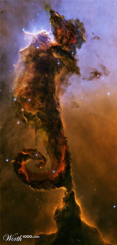3d Wallpaper For Iphone 4s Seahorse Nebula Pics About Space