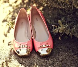 Tessa Shoes in coral