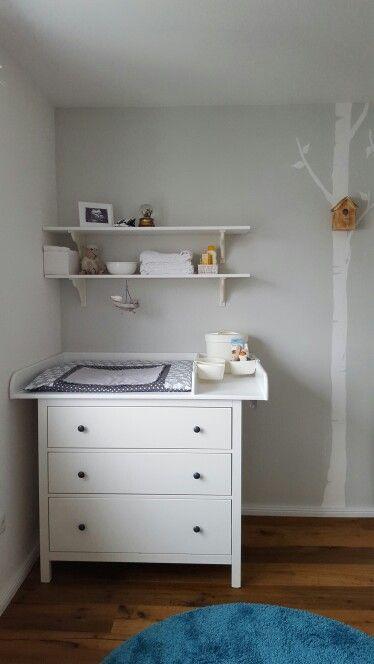 Hemmnes Kommode von Ikea umgebaut als Wickelkommode Preiswert und - ikea online babyzimmer