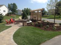 Front yard patio, Front yards and Landscaping on Pinterest