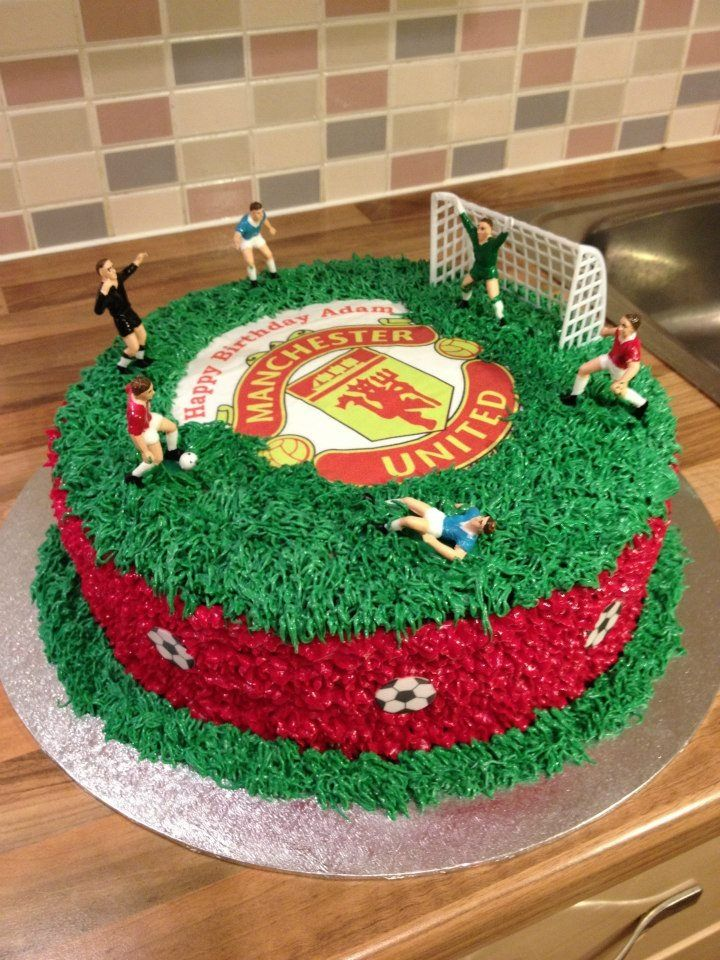 1000 ideas about manchester united cake on pinterest