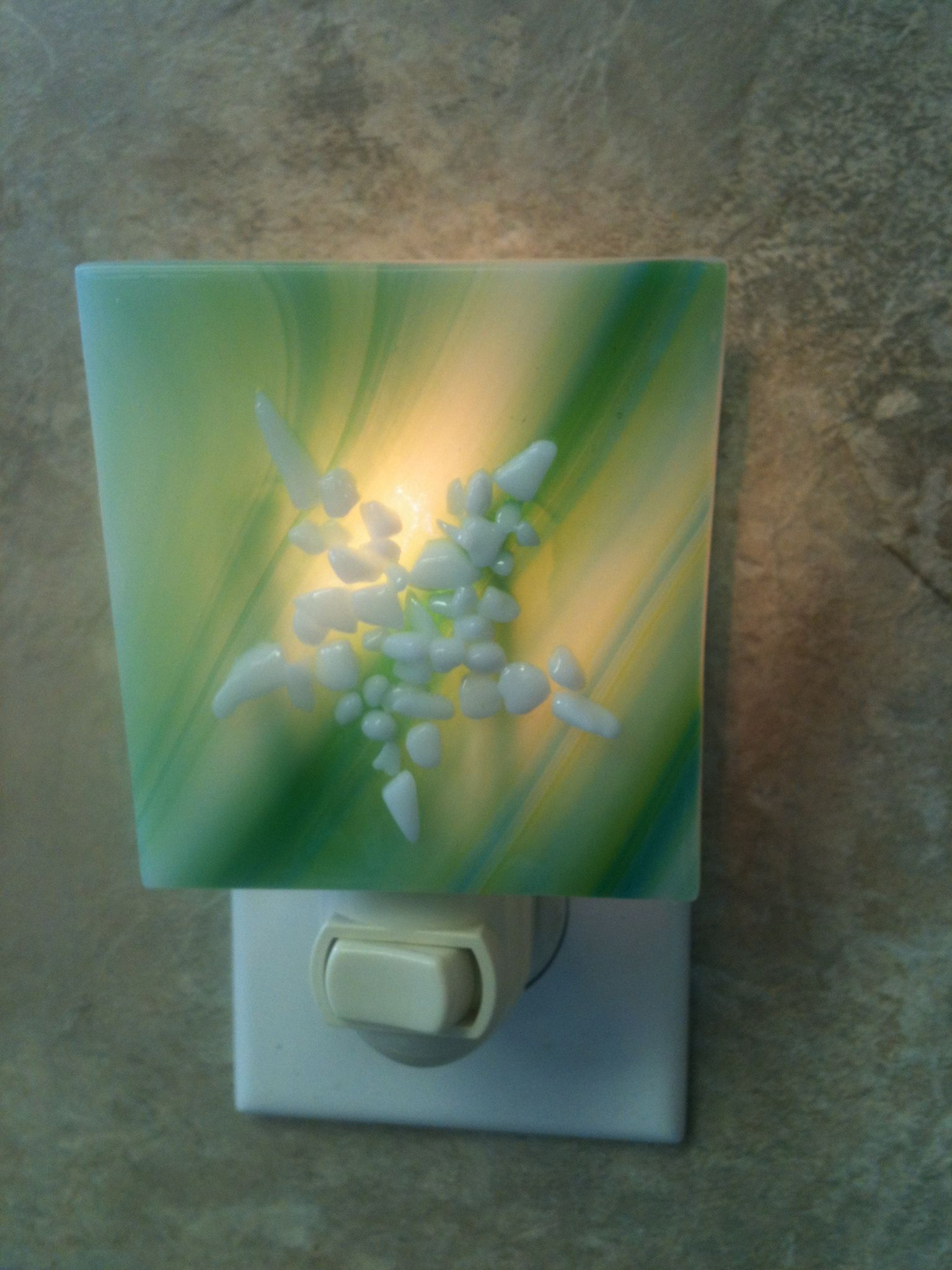Glass Night Lights Starfish Fused Glass Night Light 18 00 Glass Pinterest
