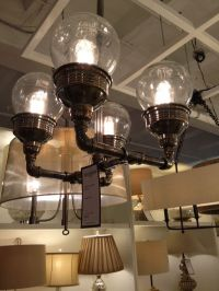 Great steampunk light fixture | Steampunk - Hanging Lights ...