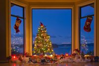Bay window idea | Christmas for the Home | Pinterest