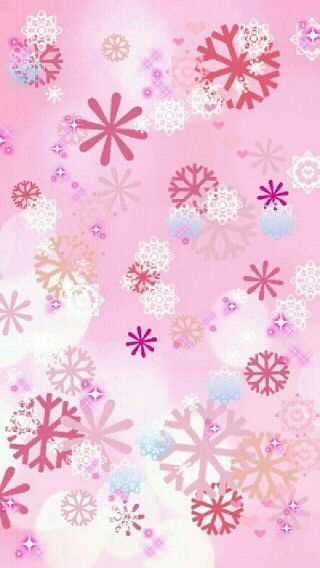 Modern Nursery Wallpaper Girl Iphone壁紙 雪の結晶 Naver まとめ