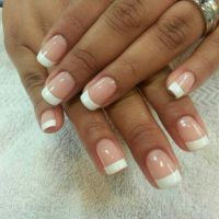 @Botanic Nails gel French manicure | Hair - Nails - MakeUp ...
