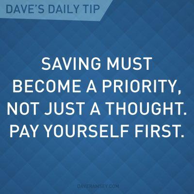 Dave Ramsey Saving Money Quotes
