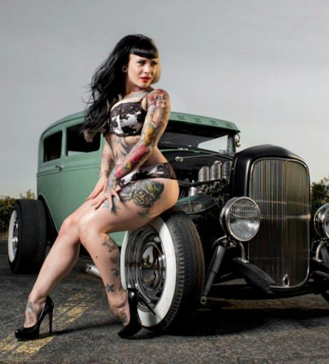 Camaros And Girls Wallpaper Psychobilly Chicks And Hot Rods Rockabilly Fever
