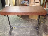 DIY bar height table | For the Home | Pinterest
