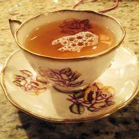 Beautiful tea cup!   Tea
