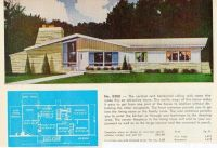 Mid Century House Plans   Midcentury   Pinterest