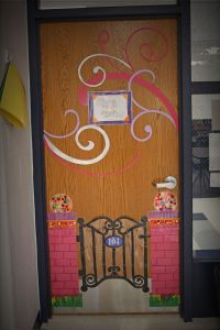 welcome gate classroom door | Classroom | Pinterest