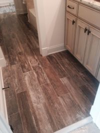 Tile that looks like wood | For the Home | Pinterest