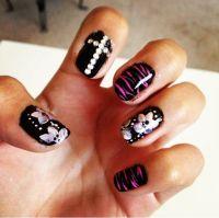 Nail Art Cross | Joy Studio Design Gallery - Best Design