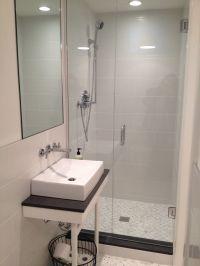 small basement bathroom w shower | Beach Cottage Bathroom ...